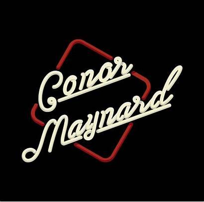 Maynard Conor Behance Rebranding Musician Promotion