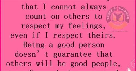 good person control    respect