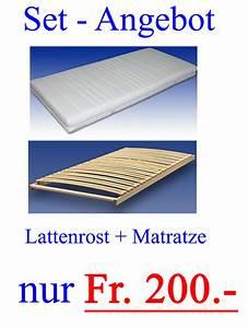 Lattenrost Und Matratze : set angebot lattenrost und matratze nur fr 200 ~ A.2002-acura-tl-radio.info Haus und Dekorationen