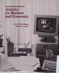 9780534144333  Statistics For Business And Economics