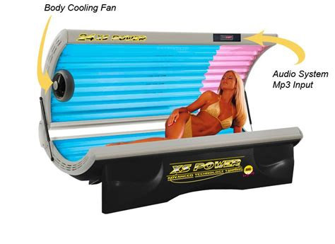 187 tanning bed deluxe 24 xs power with 220 volt