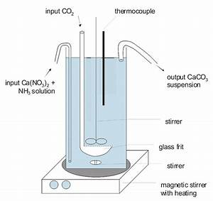 Scheme Of The Flow Reactor  The Reaction Vessel Was Closed With A