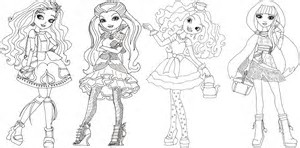 hd wallpapers ever after high coloring book - Ever After High Coloring Book
