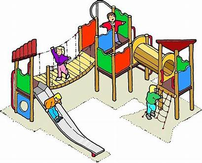 Play Outdoor Equipment Playground Clipart Clip Simple