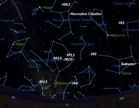 Best Time See Summer Star Clusters Now