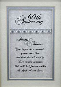 60th wedding anniversary poem anniversary gifts 50th With 60th wedding anniversary gift ideas