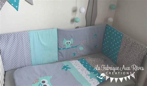 chambre taupe gigoteuse et tour de lit bébé décoration chambre enfant