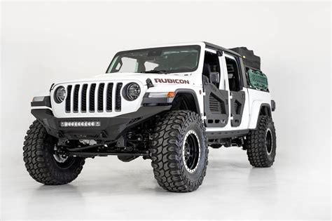 jeep jljt rubicon stealth fighter full length front bumper addictive desert designs