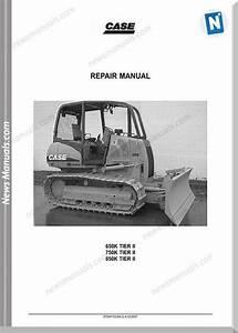 Case Dozers 650k  750k  850k Tier 2 Repair Manual
