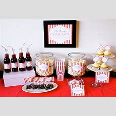 Movie Theme Party Package Birthday Party Or Shower Movie
