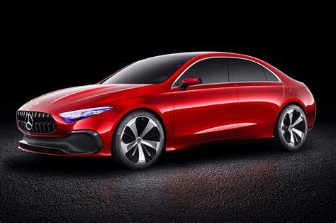 Mercedes-benz Concept A Sedan Previews Next-gen Compact