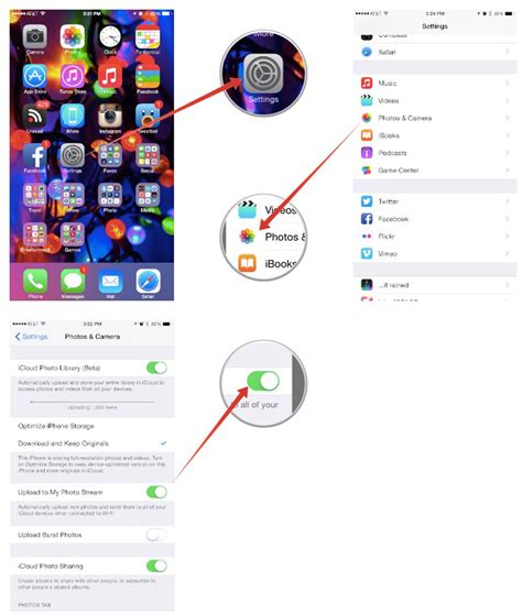 how to enable a disabled iphone how to enable or disable photo on iphone or