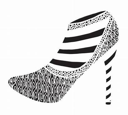 Heels Drawing Shiny Illustrations Clip Heel Outline