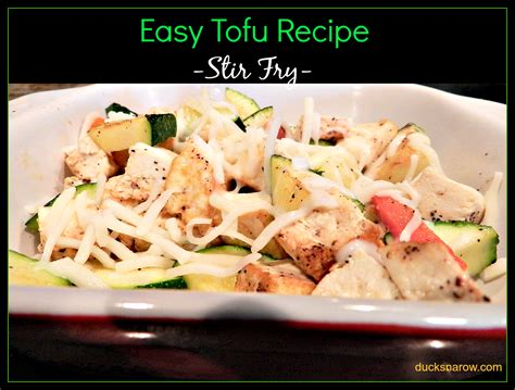 soft tofu recipes easy tofu recipe ducks n a row
