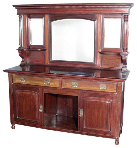 Antique Mahogany Sideboard Buffet by Antique Mahogany Regency Buffet Sideboard Server