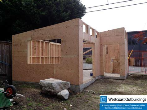 modular storage shed westcoast outbuildings