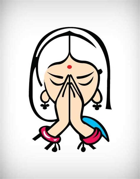 namaste clipart india clipart namaste pencil and in color india clipart