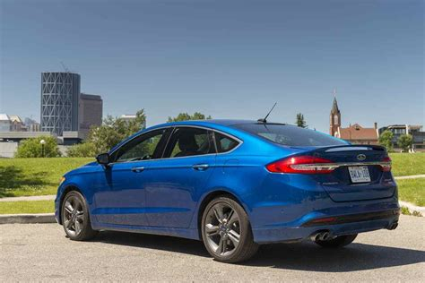 2017 ford fusion sport review the 325 hp unassuming sedan
