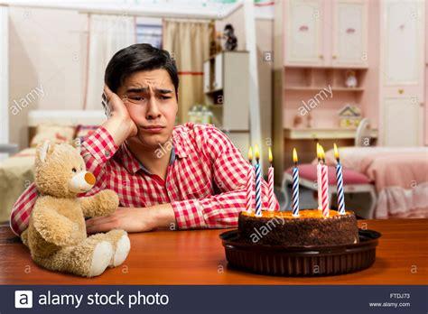 sad birthday boy stock photo royalty  image