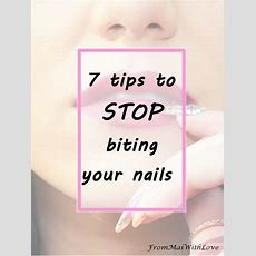 7 Tips To Stop Biting Your Nails