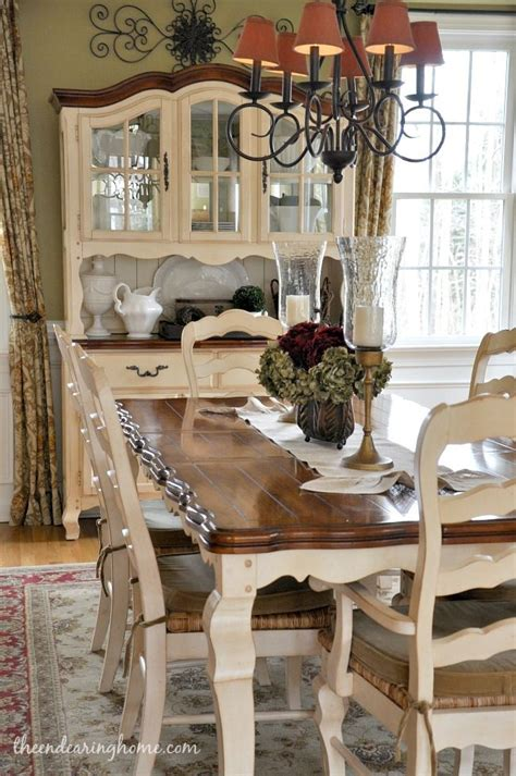 country centerpieces for dining room tables 99 best images about dining tables chairs chalk paint