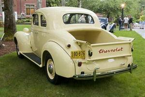 1937 Chevrolet Coupe Pick Up