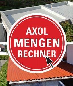 Mengen Berechnen : garagen flachdach abdichten faserzement eternit ~ Themetempest.com Abrechnung