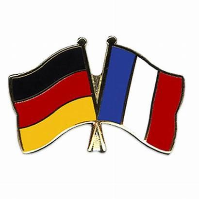 Frankreich Deutschland Freundschaftspin Vs France Freundschaftspins Vlag