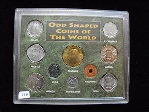 Odd, Shaped, Coins, Of, The, World, Set