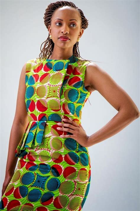 women kitenge dresses with brilliant images in thailand
