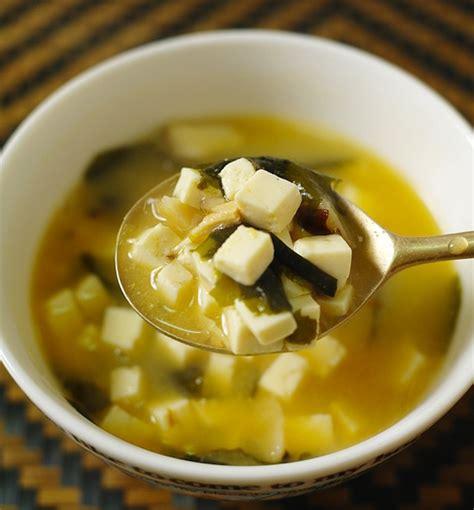 comment faire une soupe de pates recette de la soupe miso