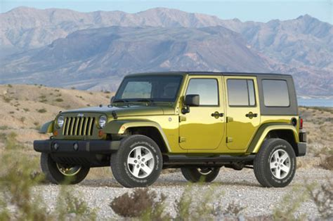 Review Jeep Wrangler Unlimited by Used Review 2008 Jeep Wrangler Unlimited The