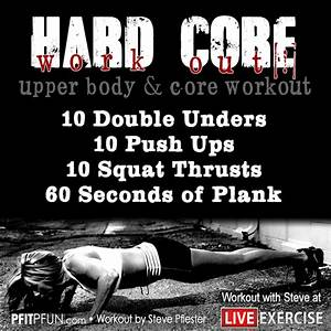 Shrink Wrap Your Waist With This Killer Core Workout  U00bb Pfitblog