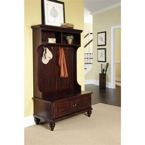 Hallway Organization And Entryway Furniture Collection by Home Styles Bermuda Espresso Tree 5542 49 The Home