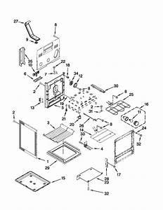 Maytag Mer8880as0 Range Light Socket Assembly