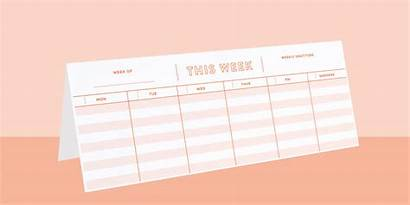 Planner Weekly Printable Business Entrepreneurs Owners Daily