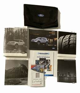2015 Ford Explorer User Guide Owner U0026 39 S Manual With Case