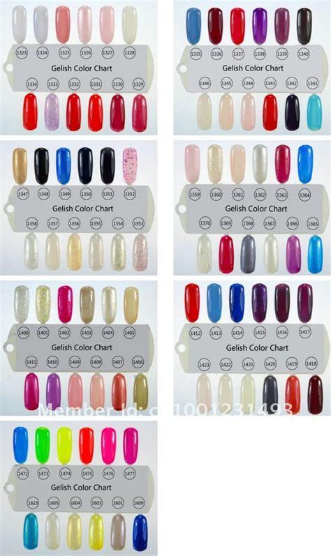 gelish color chart m 225 s de 25 ideas incre 237 bles sobre gelish color chart en
