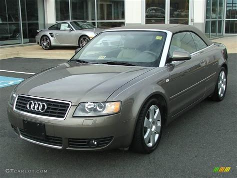 2004 Audi A4 Cabriolet Pictures Information And Specs