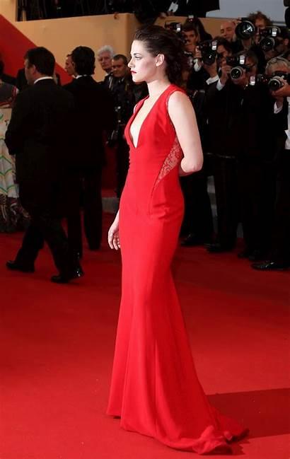 Kristen Stewart Gown Cannes Advertisement Festival Film
