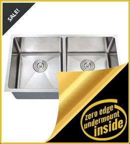 edge guard for undermount sinks zero series sinks from chef series