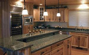 Granite countertops adding practical luxury to modern for Marvellous modern luxury kitchen with granite countertop
