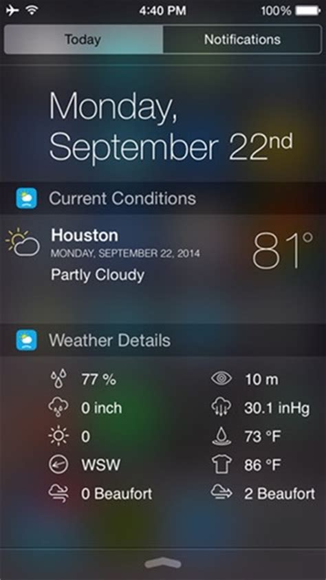 weather apps for iphone top 10 must ios 8 widgets to try on your iphone