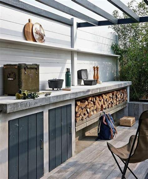 plan de travail pour cuisine exterieure 1001 idées d 39 aménagement d 39 une cuisine d 39 été extérieure