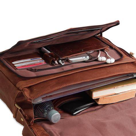 leder braun stilord ledertasche herren umh 228 ngetasche unitasche laptoptasche 15 6 zoll aktentasche b 252 rotasche
