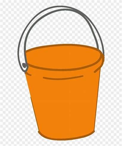 Clipart Bucket Orange Beach Pinclipart