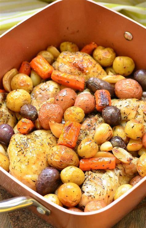 braised garlic chicken drumsticks  willcookforsmilescom cooper chef recipes chef
