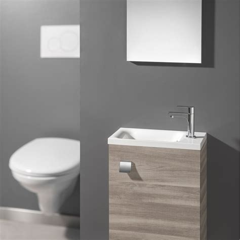 meuble lave mains avec miroir coin d o leroy merlin