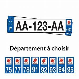 Immatriculation Voiture étrangère En France : plaques d 39 immatriculation plexiglass voiture 4x4 d partement logo ile de france ebay ~ Gottalentnigeria.com Avis de Voitures