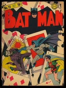 Batman Comic Book Cover
